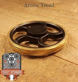 Addictive Toys Fidget Spinner Wheel Arrow Tread