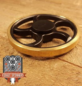 Addictive Toys Smooth Tread Wheel Fidget Spinner