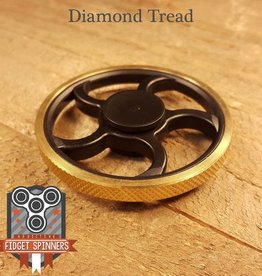 Addictive Toys Fidget Spinner Wheel Diamond Tread