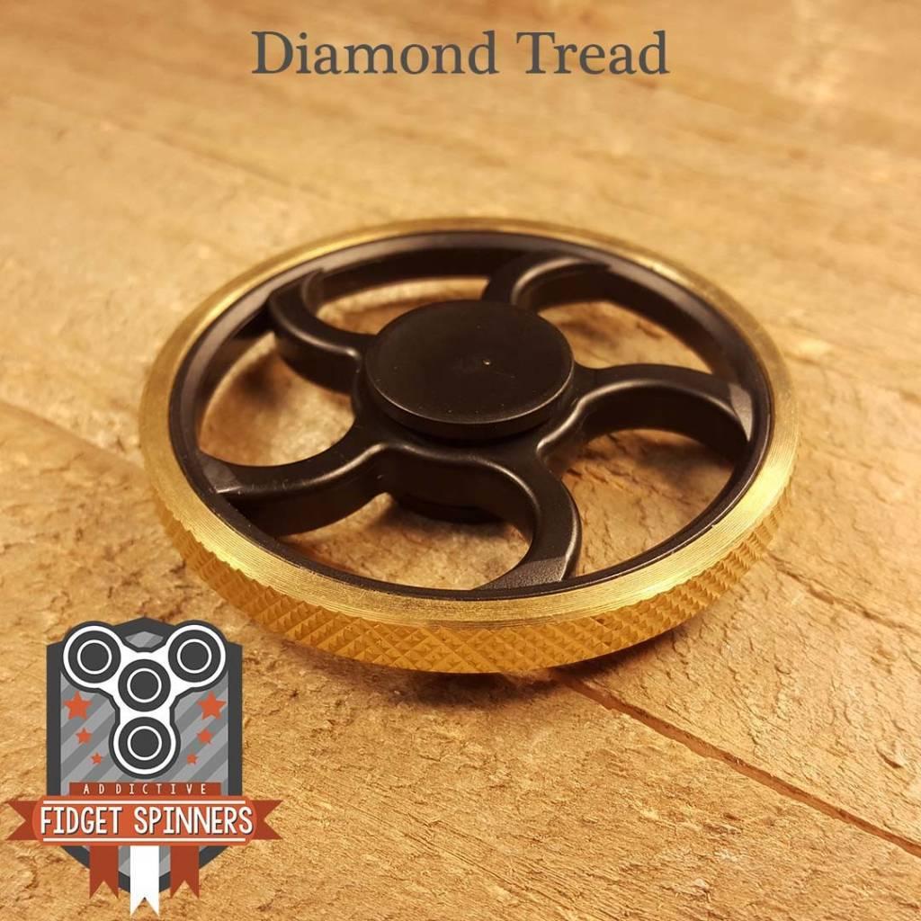 Addictive Toys Fidget Spinner Wheel Diamond Tread