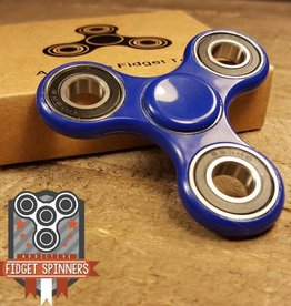 Addictive Toys 10.5 Profile Blue Tribar Spinner