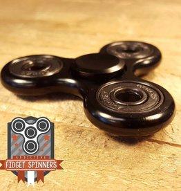 Addictive Toys Black Aluminium Tri Spinner