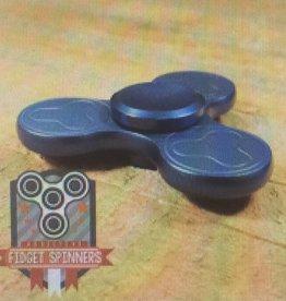 Addictive Fidget Toys Fidget SpinnerTerzetto Blue Tri Bar