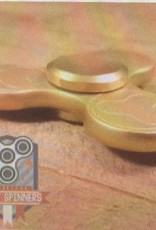Addictive Fidget Toys Fidget Spinner Terzetto Gold Tri Bar