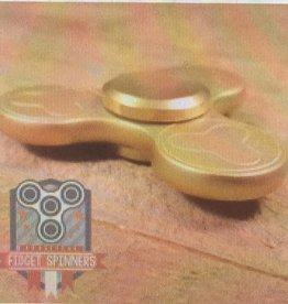 Addictive Fidget Toys Fidget Spinner Terzetto Gold Tri Bar