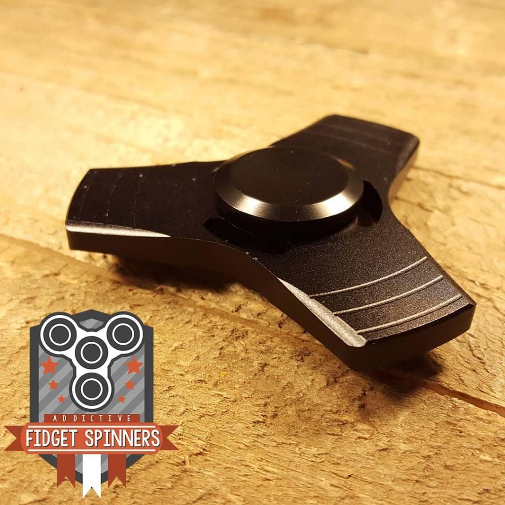 Addictive Toys Propeller Tri Black Spinner