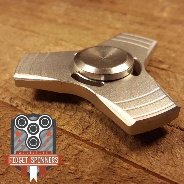 Addictive Toys Propeller Tri Silver Spinner
