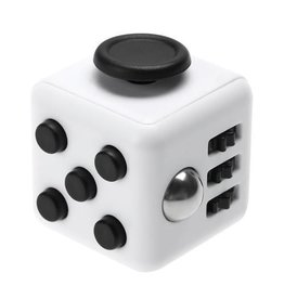 Addictive Toys Fidget Cube White w/Black