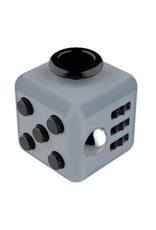 Addictive Toys Fidget Cube Grey w/Black
