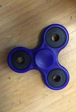 Addictive Fidget Toys Fidget Spinner Trinity Tribar Blue