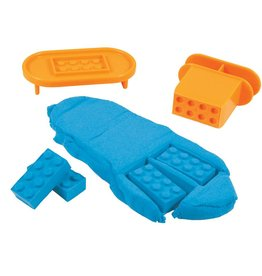 Fat Brain Toy Co. Mad Mattr Brick Maker (Blue)
