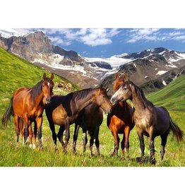Melissa & Doug Mountain Horses puzzle 500 pc