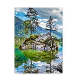 Melissa & Doug Evergreen Reflections puzzle 500 pc