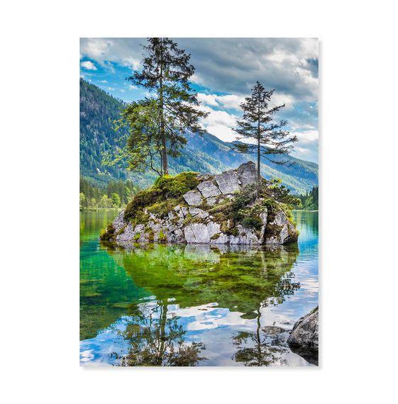 Melissa & Doug Evergreen Reflections puzzle 500 pc