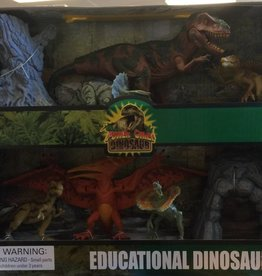 Tedco Educational Dinosaur Set