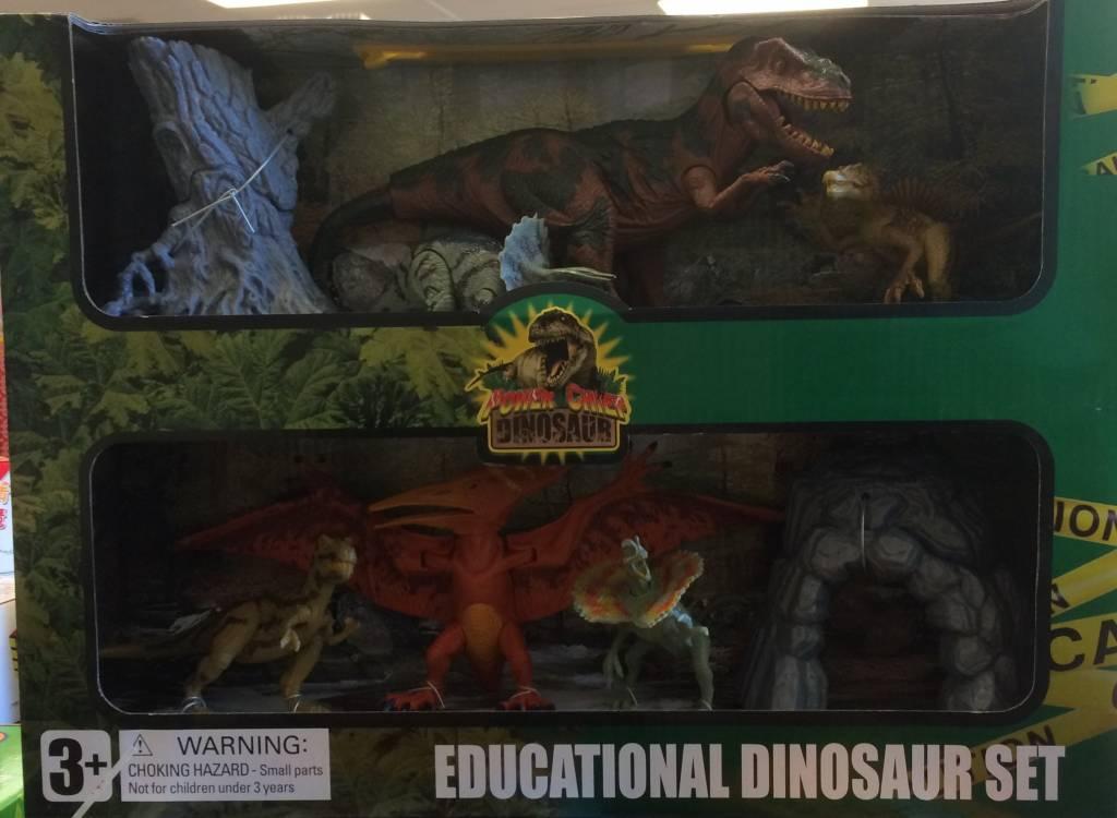 Tedco Educational Dinosaur Set