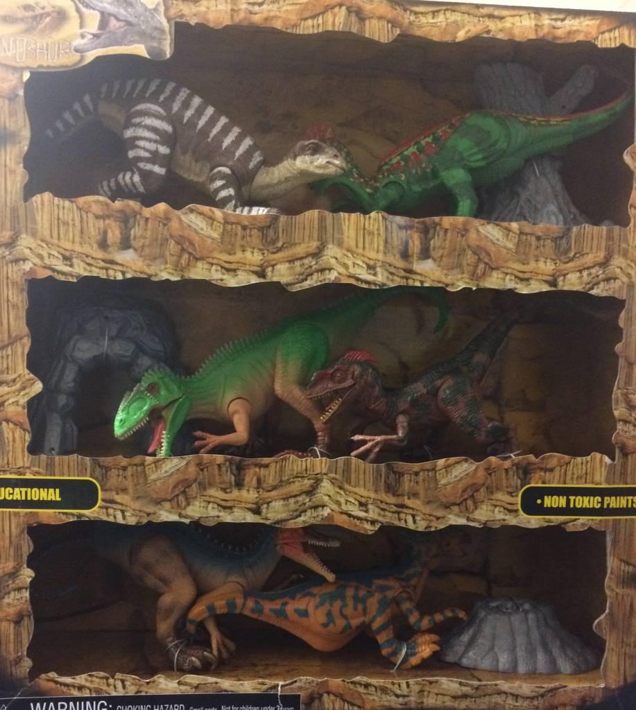 Tedco Dinosaur World Playset
