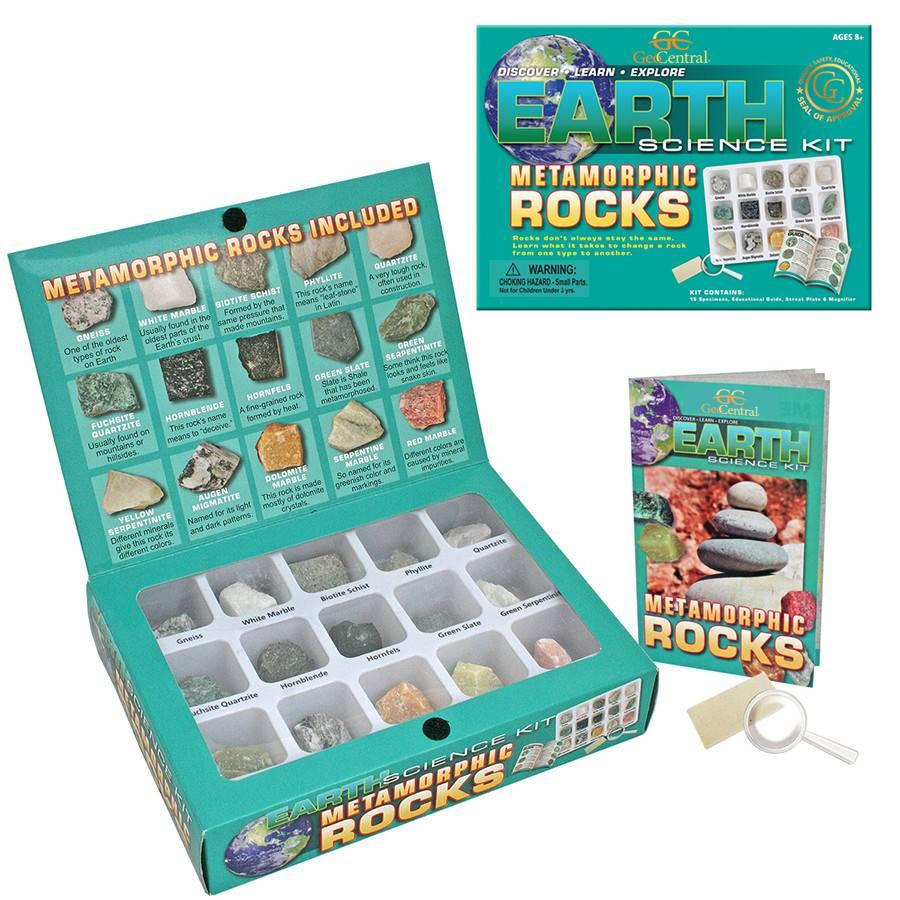 Geocentral Earth Science Kit - Metamorphic Rocks