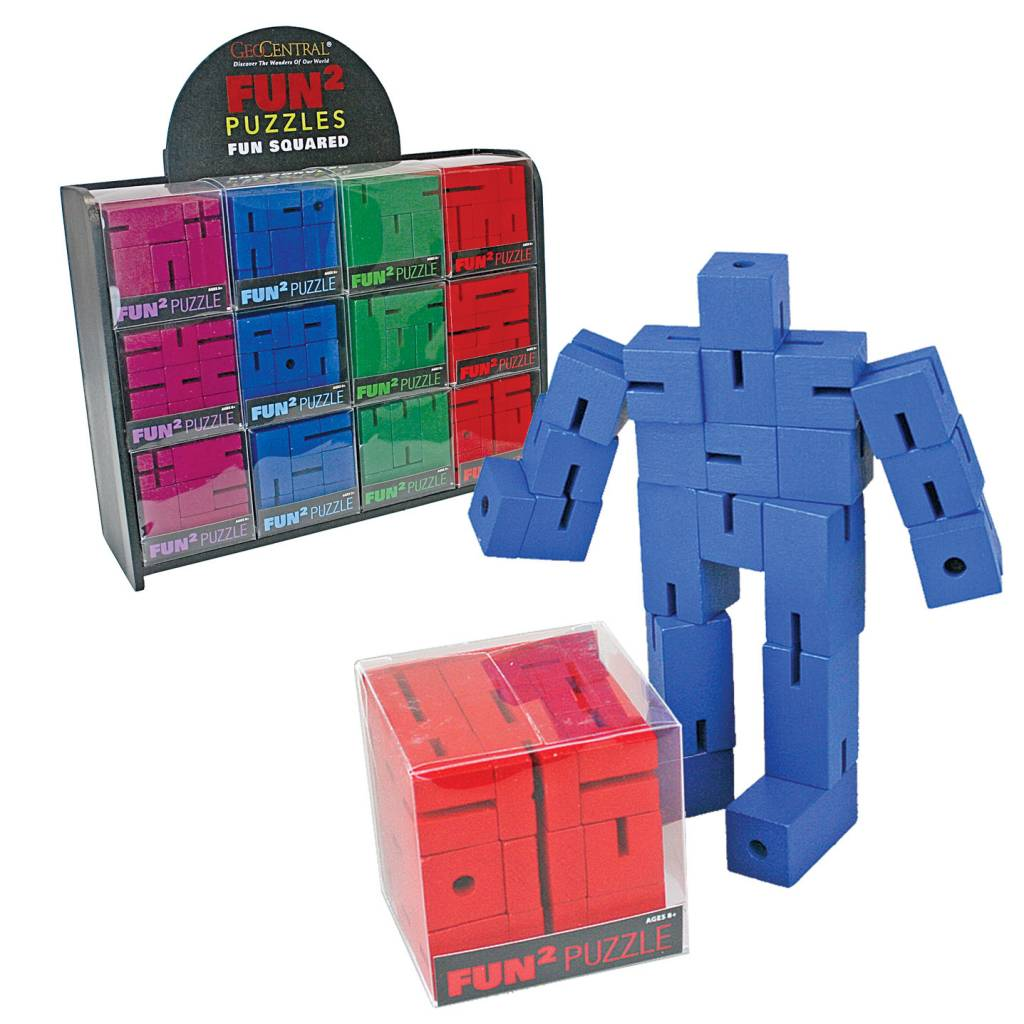 Geocentral Fun Squared Puzzles (Assorted)