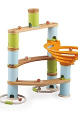 Fat Brain Toy Co. Bamboo Builder marble Run (78pc)