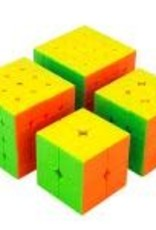 CubeZZ Speed Cube 4-Piece Set