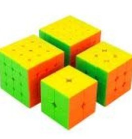 CubeZZ Speed Cube 4-Piece Set