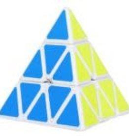CubeZZ Pyraminx Cube White