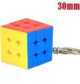 CubeZZ Speed Cube Keychain 3x3x3