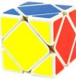 CubeZZ Skewb Speed Cube White