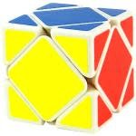 CubeZZ Skewb Speed Cube White