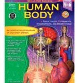 Carson Dellosa Human Body (4-6) Book