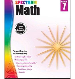 Carson Dellosa Spectrum Math G7