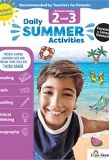 Evan-Moor Summer Activities g2-3