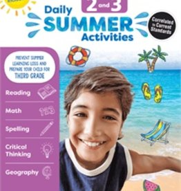 Evan-Moor Summer Activities g2-3