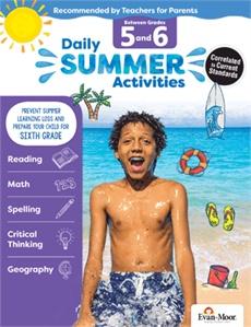 Evan-Moor Summer Activities g5-6