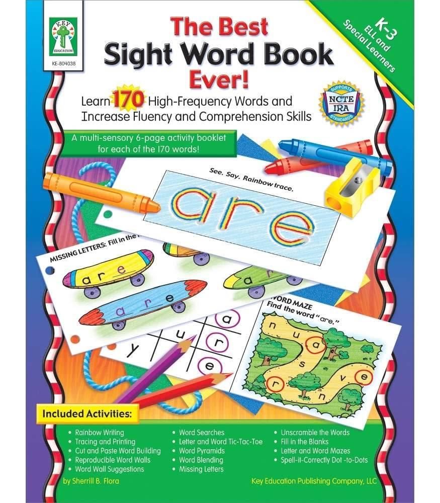 Carson Dellosa The Best Sight Word Book Ever! (K-3)