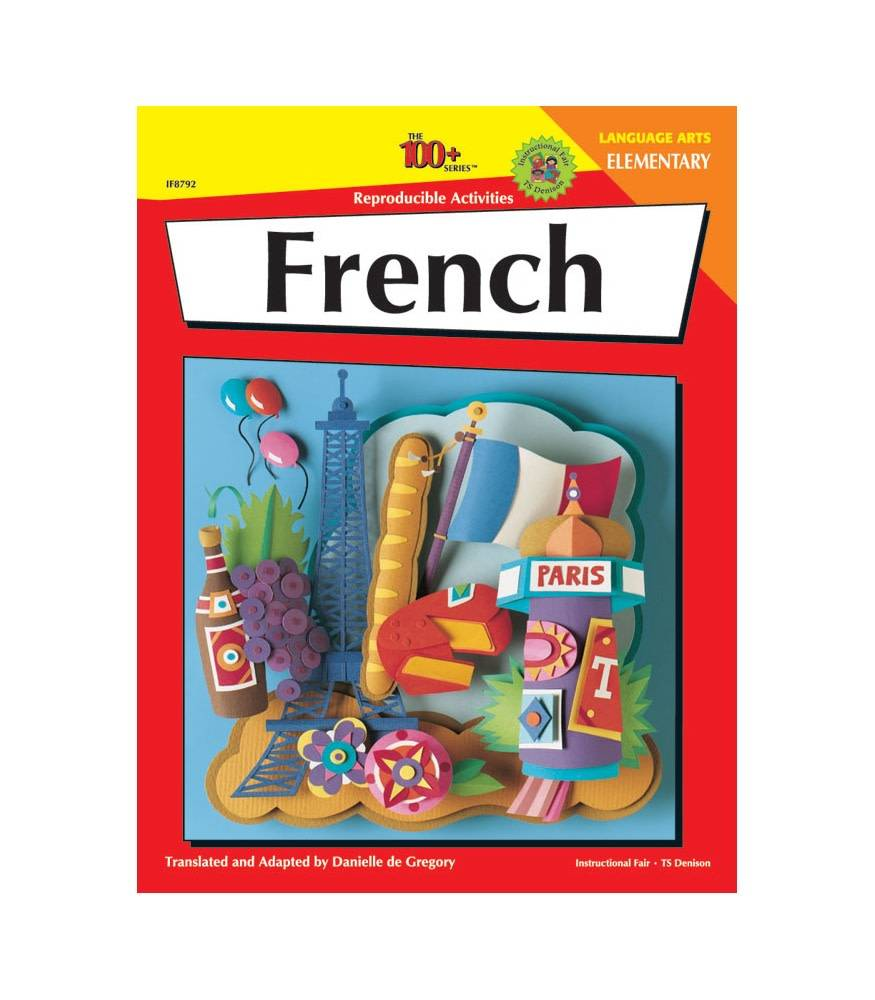 The 100+ Series: French (Elementary) Book