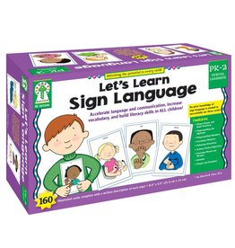 Carson Dellosa Learning Cards Sign Language