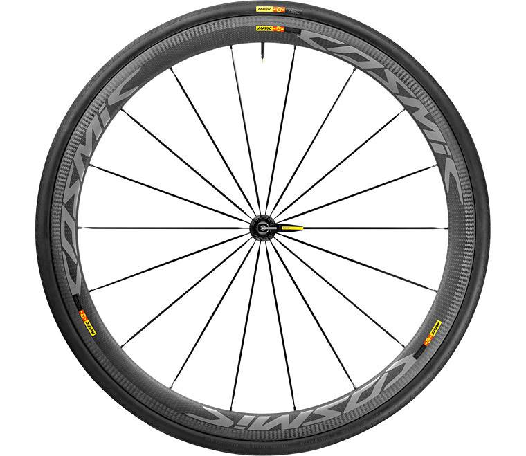 Mavic Mavic Cosmic Pro Carbon SL  Clicher Wheels for Shimano/SRAM 11 speed with 700x25c tires