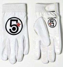 5bling 5Bling Track Glove White