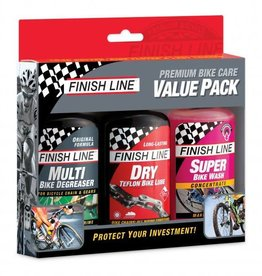Finish Line Finish Line Value Pack -Multi/Dry/Wash