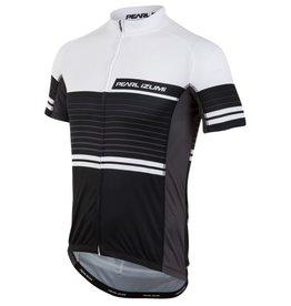 Pearl Izumi Pearl Izumi Elite Semi Form  Jersey Black/White Large