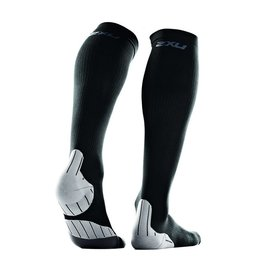2XU Recovery Sock Black X-Small