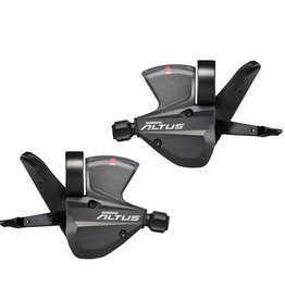 Shimano Shimano Altus M370 3x9-Speed Shifter Set, Black