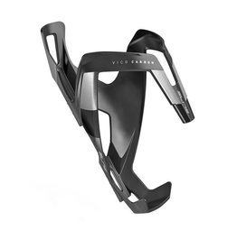 Elite Elite Vico Carbon Waterbottle Cage - Matte Black/ Black Graphic
