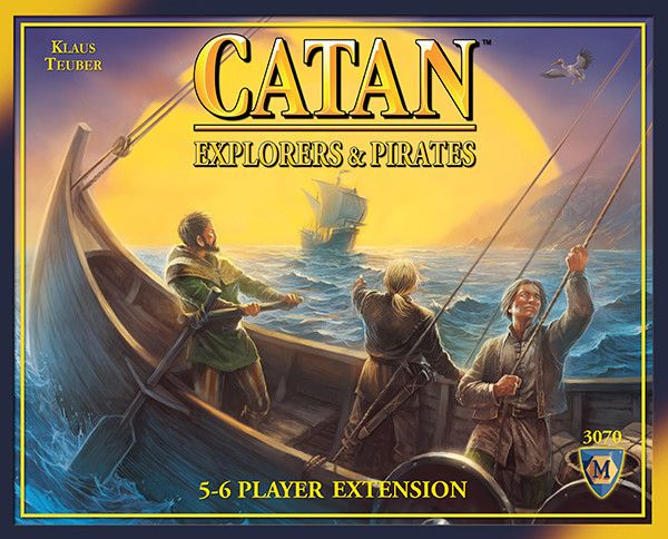Explorers & Pirates 5-6 players ext