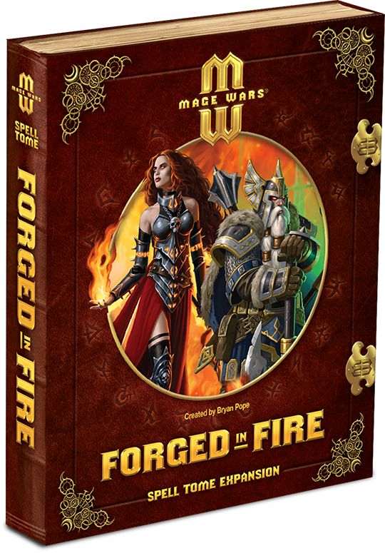 Mage Wars Forged in Fire Spell Tome Expansion