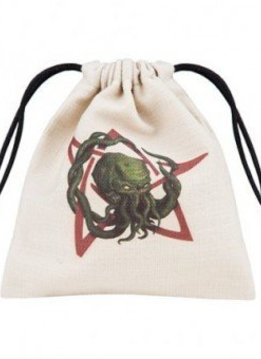 Cthulhu Dice Bag Colour Beige