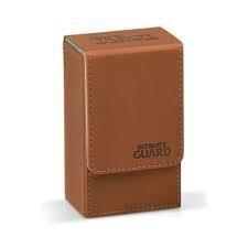 Deck Box: Tarot Flip Xenoskin 70+ Brown