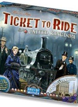 Les Aventuriers du rail United Kingdom et Pennsylvanie